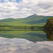 This is the image for August in the 2016 New Hampshire calendar. Mount Chocorua from Chocorua Lake in Tamworth, New Hampshire USA. The calendar can be purchased here: http://bit.ly/1AJwgpB