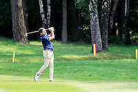 Robert Rock (ENG) on the 12th during round 3 of the 2016 BMW PGA Championship. Wentworth Golf Club, Virginia Water, Surrey, UK. 28/05/2016.<br /> Picture Fran Caffrey / Golffile.ie<br /> <br /> All photo usage must carry mandatory copyright credit (© Golffile   Fran Caffrey)