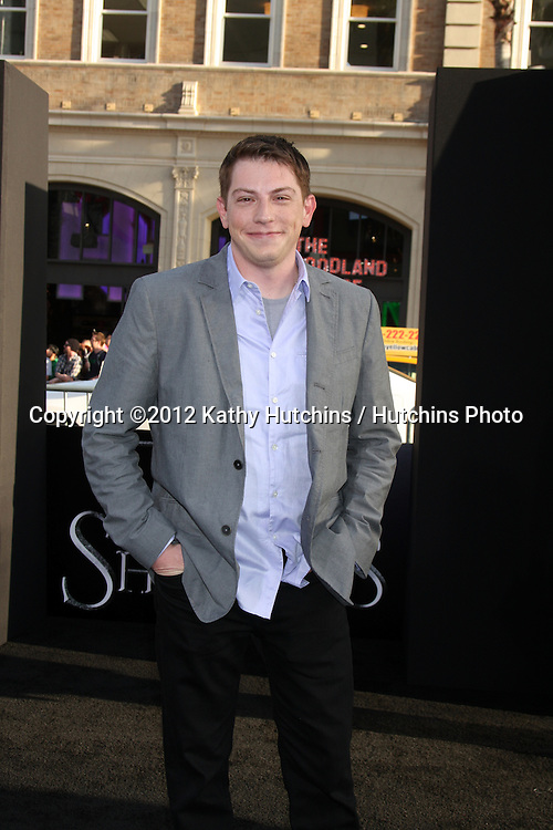 """LOS ANGELES - MAY 7:  Seth Grahame-Smith arrives at the """"Dark Shadows"""" - Los Angeles Premiere at Graumans Chinese Theater on May 7, 2012 in Los Angeles, CA"""