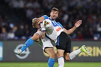 Fernando Llorente of Napoli and Simon Kjaer of Atalanta compete for the ball<br /> Napoli 30-10-2019 Stadio San Paolo <br /> Football Serie A 2019/2020 <br /> SSC Napoli - Atalanta BC<br /> Photo Cesare Purini / Insidefoto