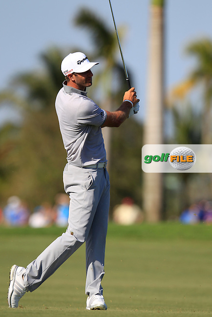 Dustin Johnson (USA) during the 2nd round at the WGC Cadillac Championship, Blue Monster, Trump National Doral, Doral, Florida, USA<br /> Picture: Fran Caffrey / Golffile