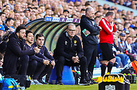 Leeds United manager Marcelo Bielsa watches on during the first half<br /> <br /> Photographer Alex Dodd/CameraSport<br /> <br /> The EFL Sky Bet Championship - Leeds United v Bolton Wanderers - Saturday 23rd February 2019 - Elland Road - Leeds<br /> <br /> World Copyright © 2019 CameraSport. All rights reserved. 43 Linden Ave. Countesthorpe. Leicester. England. LE8 5PG - Tel: +44 (0) 116 277 4147 - admin@camerasport.com - www.camerasport.com
