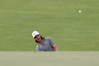 Tommy Fleetwood (ENG) chips on the 16th hole during the first round of the 118th U.S. Open Championship at Shinnecock Hills Golf Club in Southampton, NY, USA. 14th June 2018.<br /> Picture: Golffile | Brian Spurlock<br /> <br /> <br /> All photo usage must carry mandatory copyright credit (&copy; Golffile | Brian Spurlock)