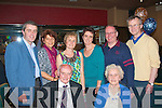 1214-1218.---------.Young at heart.--------------.Peter Breen of St John's pk,Tralee celebrated his 90th birthday last Saturday night in the Grand Hotel,Denny St,Tralee,seen here with his wife Margaret(standing)L-R Peter Jnr&Tjitske Breen,Margaret Kearney,Cathrine&Pat Murphy with Rick Kearney..
