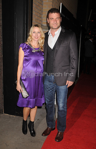 "Noami Watts and Liev Schreiber at the Screening of ""Filth and Wisdom"" hosted by The Cinema Society and Dolce and Gabbana. Landmark Sunshine Theatre, New York City. October 13, 2008.. Credit: Dennis Van Tine/MediaPunch"