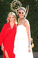 PASADENA - APR 30: Daphne Oz, Carla Hall at the 44th Daytime Emmy Awards at the Pasadena Civic Center on April 30, 2017 in Pasadena, California