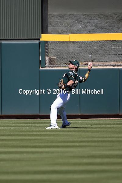 Josh Reddick - Oakland Athletics 2016 spring training (Bill Mitchell)