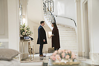 SUCCESSION (season 1)<br /> JEREMY STRONG, HIAM ABBASS<br /> *Filmstill - Editorial Use Only*<br /> CAP/FB<br /> Image supplied by Capital Pictures
