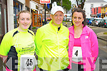 Pictured at the 10K run Summer Solstice in aid of the Irish heart foundation in Tralee on Saturday from left  Michelle Mulvhill (Tarbert) Keith McCarthy (Lixnaw) Anne McCarthy (Lixnaw)