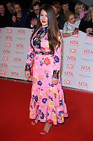 Lacey Turner<br /> arriving for the National Television Awards 2018 at the O2 Arena, Greenwich, London<br /> <br /> <br /> ©Ash Knotek  D3371  23/01/2018