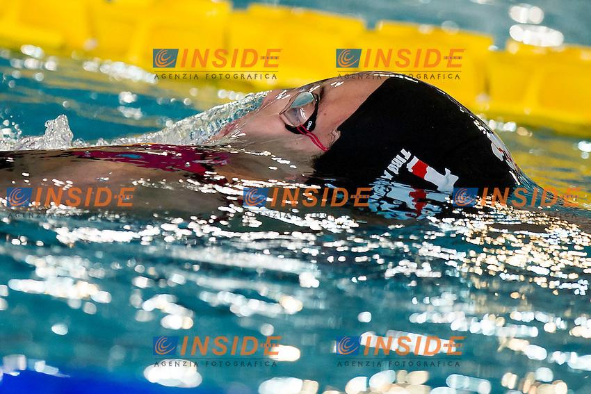 Martina Rossi Tiro a Volo<br /> 200 Dorso Donne<br /> Batterie Giorno 3<br /> Campionati Italiani Assoluti Nuoto Primaverili Fin UnipolSai<br /> Riccione Italy 14-18/04/2015<br /> Photo Andrea Masini/Deepbluemedia/Insidefoto