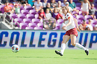 Orlando, FL - Sunday December 03, 2017: Andi Sullivan scores goal during the NCAA Division I Women's Soccer Championship match between the Stanford Cardinal and the UCLA Bruins at Orlando City Stadium.