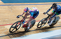Picture by Allan McKenzie/SWpix.com - 06/01/2018 - Track Cycling - Revolution Champion Series 2017 - Round 3 - National Cycling Centre, Manchester, England - Team Jaden Weldtite's Katie Archibald races in the Women's Elite Championship Points race.