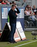 03.11.2019, Brita-Arena, Wiesbaden, GER, 2.FBL, Wehen-Wiesbaden vs Hamburger SV<br /> , <br />DFL  regulations prohibit any use of photographs as image sequences and/or quasi-video.<br />im Bild<br />Trainer Dieter Hecking (Hamburg)<br /> <br /> Foto © nordphoto / Bratic