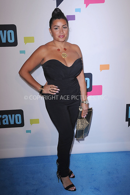 WWW.ACEPIXS.COM . . . . . .April 3, 2013...New York City...Merecedes 'MJ' Javid attends the 2013 Bravo New York Upfront at Pillars 37 Studios on April 3, 2013 in New York City ....Please byline: KRISTIN CALLAHAN - ACEPIXS.COM.. . . . . . ..Ace Pictures, Inc: ..tel: (212) 243 8787 or (646) 769 0430..e-mail: info@acepixs.com..web: http://www.acepixs.com .