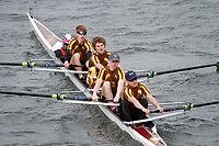 Crew: 295  Monmouth School RC  Event: Junior Fours<br /> <br /> Schools' Head of the River 2017<br /> <br /> To purchase this photo, or to see pricing information for Prints and Downloads, click the blue 'Add to Cart' button at the top-right of the page.