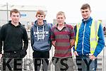 Ballyduff Horse Fair: Steven Keane, Jack Keane Niall Kirby & James Pike attending the Ballyduff Horse fair  on Sunday last.