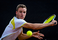 Rotterdam, Netherlands, August21, 2017, Rotterdam Open, Maikel Borg (NED)<br /> Photo: Tennisimages/Henk Koster