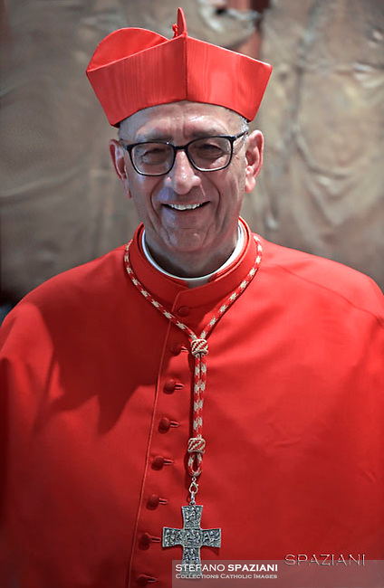 Cardinal Juan José Omella of Spain.Pope Francis leads a consistory for the creation of five new cardinals  at St Peter's basilica in Vatican.  from countries  : El Salvador, Laos, Mali,Sweden and Spain.<br /> Cardinal Gregorio Rosa Chavez from Salvador;Cardinal Louis-Marie Ling Mangkhanekhoun from Laos;Cardinal Anders Arborelius from Sweden;Cardinal Jean Zerbo from Mali;Cardinal Juan José Omella of Spain.on June 28, 2017