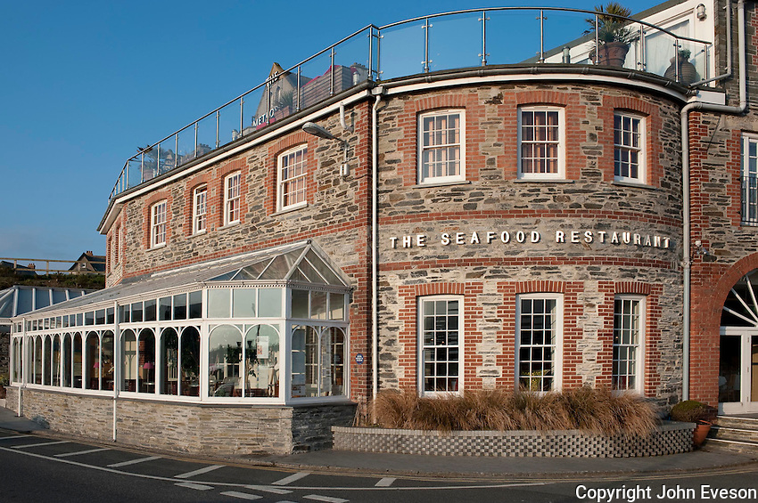 Rick Stein's The Seafood Restaurant, Padstow, Cornwall.