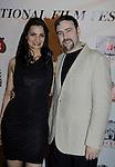 Dylan Bank & girlfriend Aurora at Gala Awards Night - Closing Night - Hoboken International Film Festival held June 5, 2014 at the Paramount Theatre, Middletown, New York. (Sue Coflin/Max Photos)