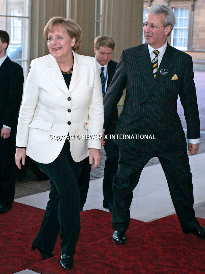 """ANGELA MERKEL, GERMAN CHANCELLOR.The Queen met G20 Summit world leaders at a reception at Buckingham Palace, London_01/04/2009..Photo Distributed by : Newspix International..**ALL FEES PAYABLE TO: """"NEWSPIX INTERNATIONAL""""**..PHOTO CREDIT MANDATORY!!: NEWSPIX INTERNATIONAL(Failure to credit will incur a surcharge of 100% of reproduction fees)..IMMEDIATE CONFIRMATION OF USAGE REQUIRED:.Newspix International, 31 Chinnery Hill, Bishop's Stortford, ENGLAND CM23 3PS.Tel:+441279 324672  ; Fax: +441279656877.Mobile:  0777568 1153.e-mail: info@newspixinternational.co.uk"""