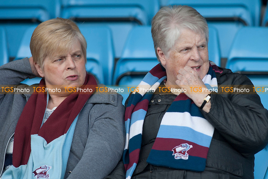 Scunthorpe supporters<br />  - Scunthorpe United vs Gillingham - Sky Bet League One Football at Glanford Park, Scunthorpe, Lincolnshire - 25/04/15 - MANDATORY CREDIT: Mark Hodsman/TGSPHOTO - Self billing applies where appropriate - contact@tgsphoto.co.uk - NO UNPAID USE
