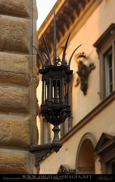 Medieval Spiked Lantern Palazzo Medici-Ricardi Florence