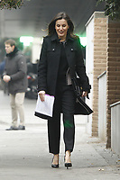 JAN 17 Queen Letizia Arrives at FEDER Board Meeting