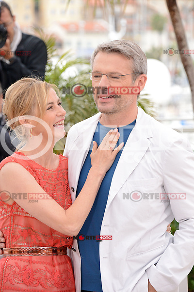 """Anne Consigny and Lambert Wilson attending the """"vous n'avez encore rien vu"""" Photocall during the 65th annual International Cannes Film Festival in Cannes, France, 21th May 2012...Credit: Timm/face to face / Mediapunchinc"""