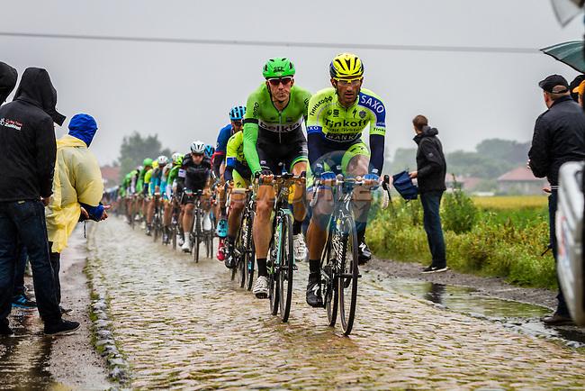 Sep Vanmarcke, Belkin, Tour de France, Stage 5: Ypres > Arenberg Porte du Hainaut, UCI WorldTour, 2.UWT, Wallers, France, 9th July 2014, Photo by Thomas van Bracht / Peloton Photos