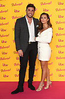 Jack Fincham and Dani Dyer<br /> arriving for the ITV Palooza at the Royal Festival Hall London<br /> <br /> ©Ash Knotek  D3444  16/10/2018