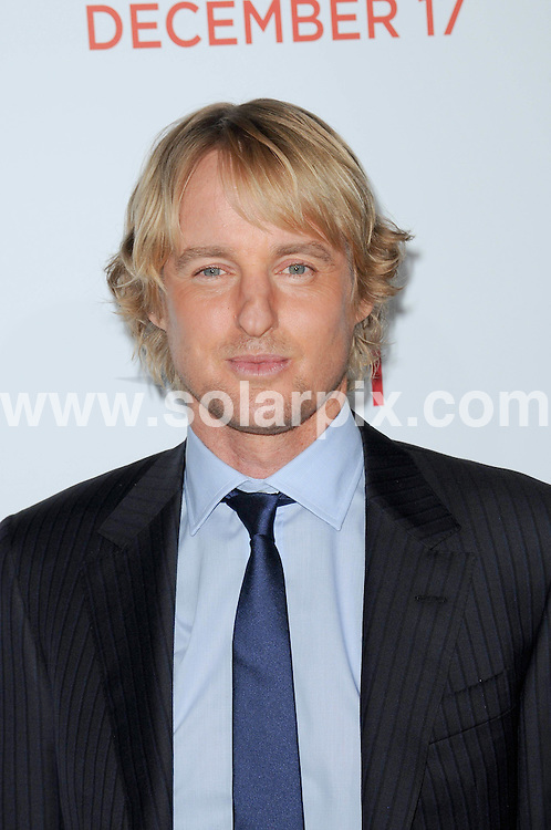 **ALL ROUND PICTURES FROM SOLARPIX.COM**                                             **SYNDICATION RIGHTS FOR UK, AUSTRALIA, DENMARK, PORTUGAL, S. AFRICA, SPAIN & DUBAI (U.A.E) & ASIA (EXCLUDING JAPAN) ONLY**                                                                                  Caption: Arrivals for the How Do You Know Los Angeles Premiere, Held at the Regency Village Theatre, Los Angeles, USA. 13 December 2010                                                                            This pic: Owen Wilson                                                                       JOB REF: 12601 PHZ Charlotte  DATE: 13_12_2010                                                           **MUST CREDIT SOLARPIX.COM OR DOUBLE FEE WILL BE CHARGED**                                                                      **MUST AGREE FEE BEFORE ONLINE USAGE**                               **CALL US ON: +34 952 811 768 or LOW RATE FROM UK 0844 617 7637**