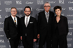 Left to right: Charles Renfro, Benjamin Gilmartin, Ricardo Scofidio, and Elizabeth Diller, from Diller Scofidio + Renfro architecture arrive at the WSJ. Magazine 2017 Innovator Awards at The Museum of Modern Art in New York City, on November 1, 2017.