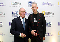 "LONDON, UK - DECEMBER 11: Michael Bloomberg and Jefferson Hack attend the London Premiere of Bloomberg and National Geographic's ""Paris to Pittsburgh"" at the BAFTA Theatre on December 11, 2018 in London, UK. (Photo by Vianney Le Caer/National Geographic/PictureGroup)"