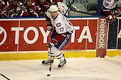March 15, 2009:  Center Kyle Chipchura (17) of the Hamilton Bulldgos, AHL affiliate of Montreal Canadians, during overtime of a regular season game at the Blue Cross Arena in Rochester, NY.  Hamilton defeated Rochester 4-3 in a shoot out.  Photo Copyright Mike Janes Photography 2009