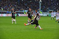 VOETBAL: HEERENVEEN: Abe Lenstra Stadion, SC Heerenveen - Vitesse, 21-01-2012, Jan-Arie van der Heijden (#4), Guram Kashia (#37), Luciano Narsingh (#24), Michihiro Yasuda (#16), Eindstand 1-1, ©foto Martin de Jong