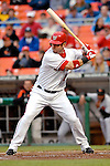 18 May 2007: Washington Nationals outfielder Ryan Church in action against the Baltimore Orioles at RFK Stadium in Washington, DC. The Orioles defeated the Nationals 5-4 in the first game of the 3-game interleague series...Mandatory Photo Credit: Ed Wolfstein Photo