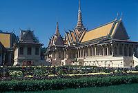 Prince Sihanouk royal palace in Phnom Penh, Cambodia