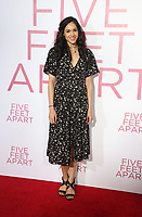 LOS ANGELES, CA - MARCH 7: Arianna Guerra, at The Premiere Of Lionsgate's &quot;Five Feet Apart&quot; at The Fox Bruin Theatre in Los Angeles, California on March 7, 2019. <br /> CAP/MPI/SAD<br /> &copy;SAD/MPI/Capital Pictures