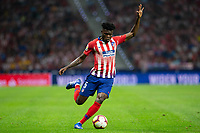 Thomas Partey of Atletico Madrid during the match between Real Madrid v Rayo Vallecano of LaLiga, 2018-2019 season, date 2. Wanda Metropolitano Stadium. Madrid, Spain - 25 August 2018. Mandatory credit: Ana Marcos / PRESSINPHOTO