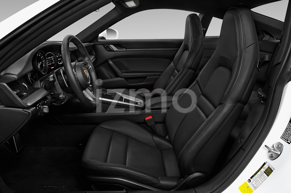 Front seat view of a 2020 Porsche 911 Carrera S 2 Door Coupe front seat car photos