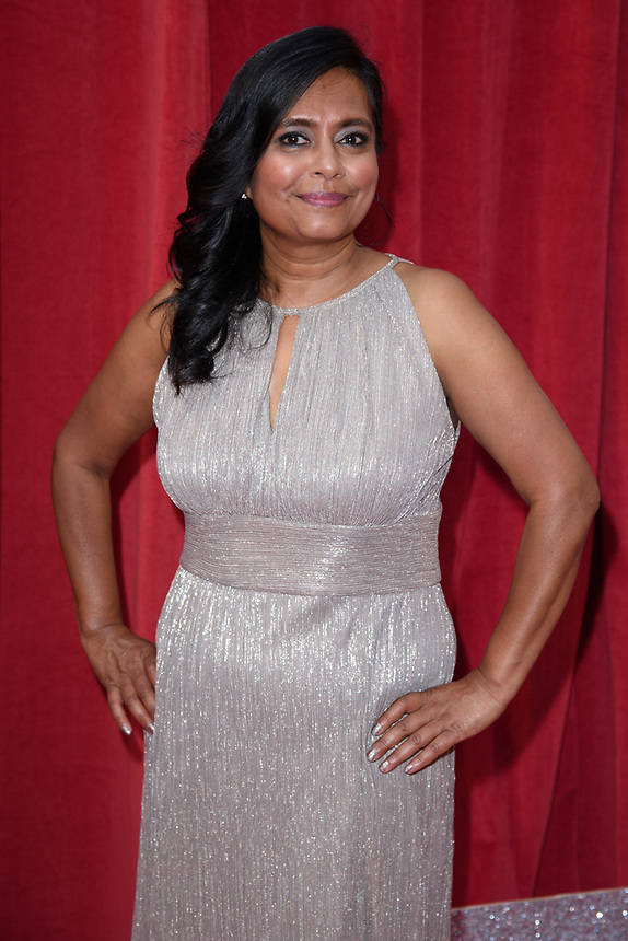 Bharti Patel<br /> arriving for the British Soap Awards 2018 at the Hackney Empire, London<br /> <br /> ©Ash Knotek  D3405  02/06/2018