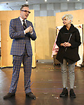 Bill Berry, Producing Artistic Director and Bernadine C. Griffin, Managing Director attend the Sneak Peek Presentation for 'Marie, Dancing Still - A New Musical'  at Church of Saint Paul the Apostle in Manhattan on March 4, 2019 in New York City.