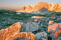Snowy Range from Medicine Bow Peak<br />