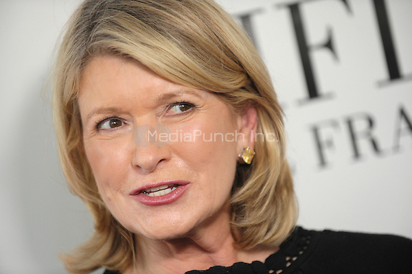 Martha Stewart at the 40th annual Fifi awards at Alice Tully Hall, Lincoln Center on May 21, 2012 in New York City.. Credit: Dennis Van Tine/MediaPunch