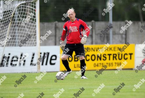 2012-08-09 / Voetbal / seizoen 2012-2013 / KFC Lille / Danny Van Hove..Foto: Mpics.be
