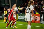 26.07.2017, Stadion Galgenwaard, Utrecht, NLD, Tilburg, UEFA Women's Euro 2017, Russland (RUS) vs Deutschland (GER), <br /> <br /> im Bild | picture shows<br /> Carolin Simon (Deutschland #7) | (Germany #7) im Duell, <br /> <br /> Foto © nordphoto / Rauch
