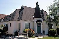 Redlands CA: Normandy Court.  Photo '87.