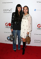 Los Angeles, CA - NOVEMBER 05: Asia Chow, Eva Chun Chow at The 10th Annual GO Campaign Gala in Los Angeles At Manuela, California on November 05, 2016. Credit: Faye Sadou/MediaPunch